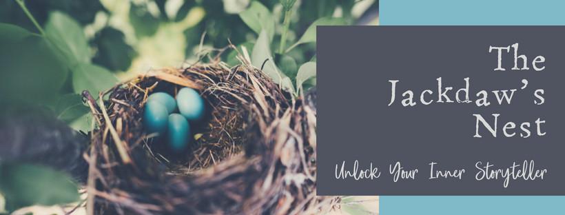 Advert for Facebook group The Jackdaw's Nest   Unlock Your Inner Storyteller