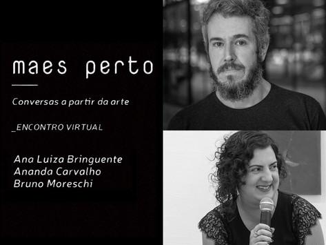 Conversas a partir da arte com Ananda Carvalho e Bruno Moreschi