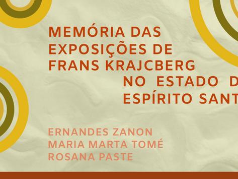 Memória das exposições de Frans Krajcberg no estado do Espírito Santo
