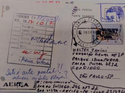 Musealização e Arte Postal