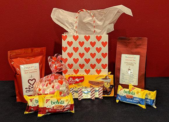 Coffee & Hot Chocolate Valentine's Gift Bag