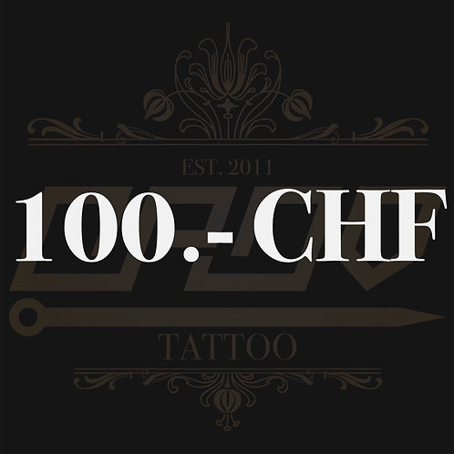 Wertgutschein 100.- CHF