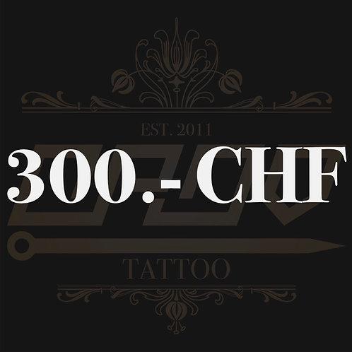 Wertgutschein 300.- CHF