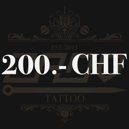 Wertgutschein 200.- CHF