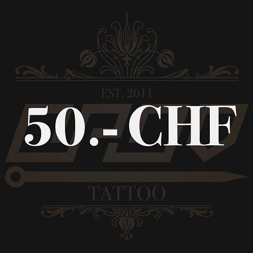 Wertgutschein 50.- CHF