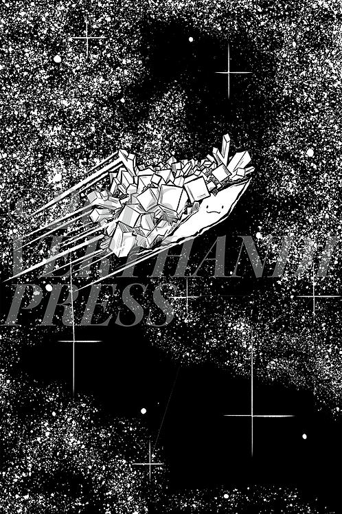 "Unframed ""The Dreamer of Pluto"" Print 6x8"