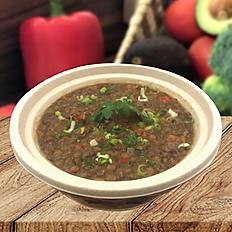 Full protein lentil soup