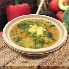 Spring oat soup