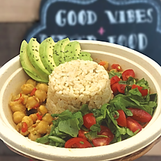 CURRY CHICKPEA BOWL