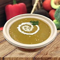 Vital green cream soup