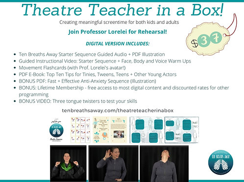 Theatre Teacher in a Box! (Click through for info + purchase link)