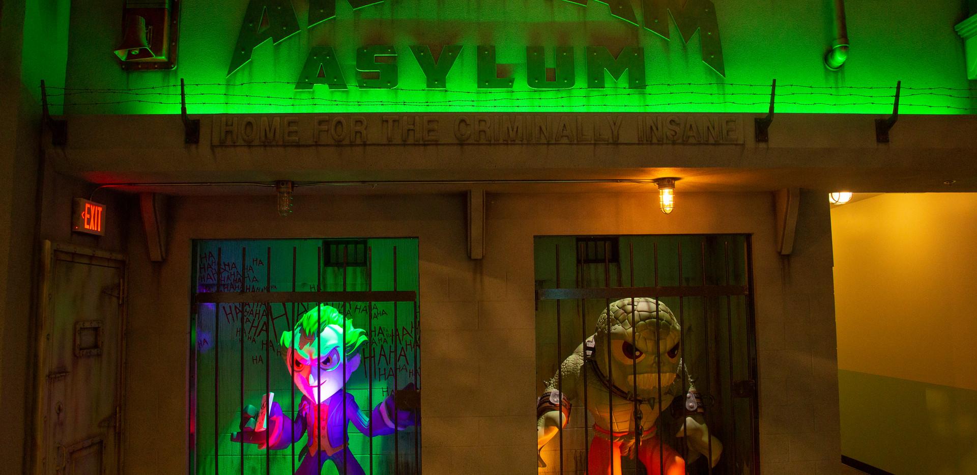 Arkham Asylum @ Funko HQ