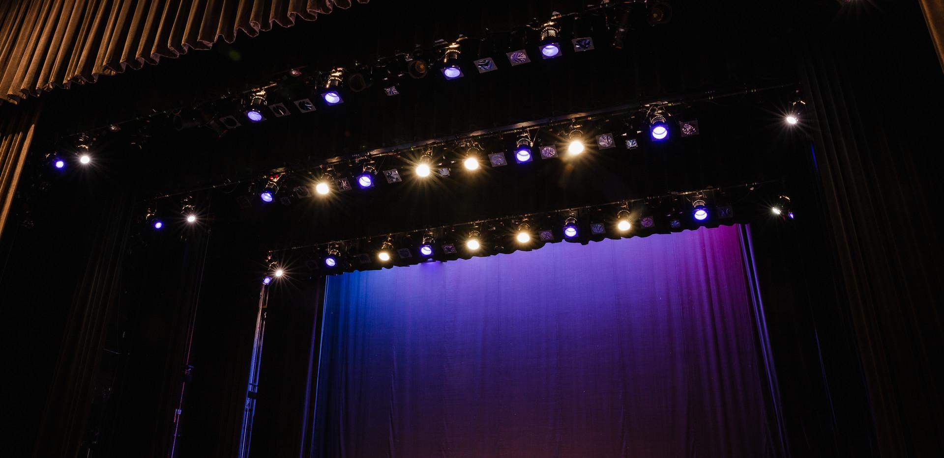 Admiral Theatre (Drapes Open)