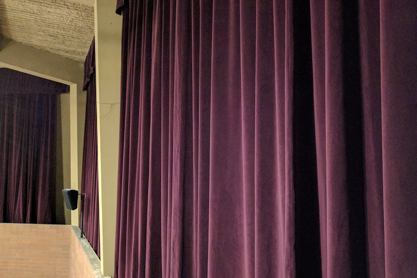 Movable Acoustic Curtains