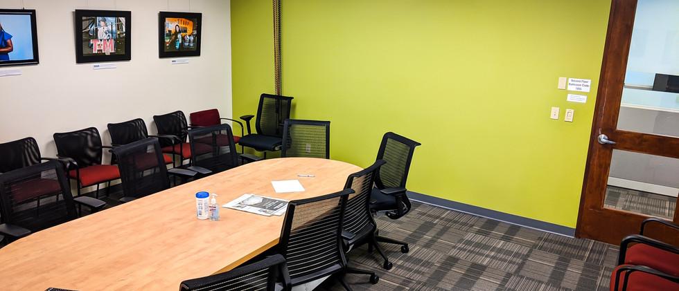 The original conference room-cum-photo/video studio