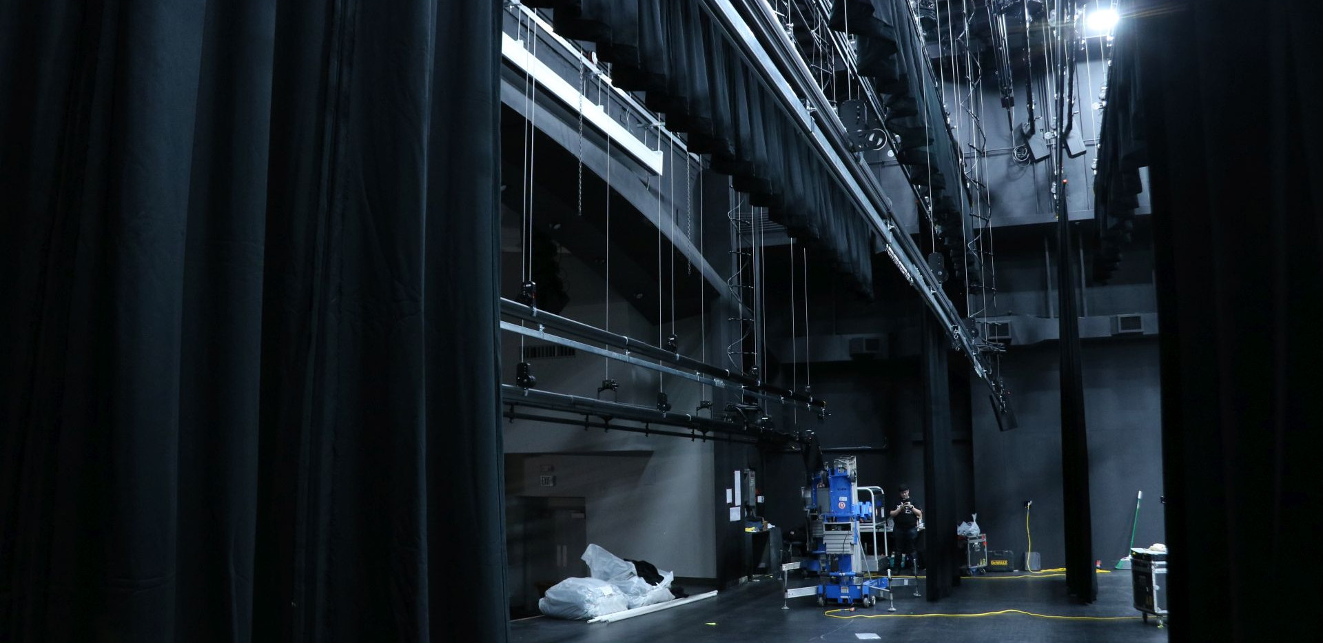 Whitworth University Stage Curtains