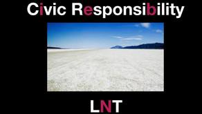 Civic Responsibility & LNT