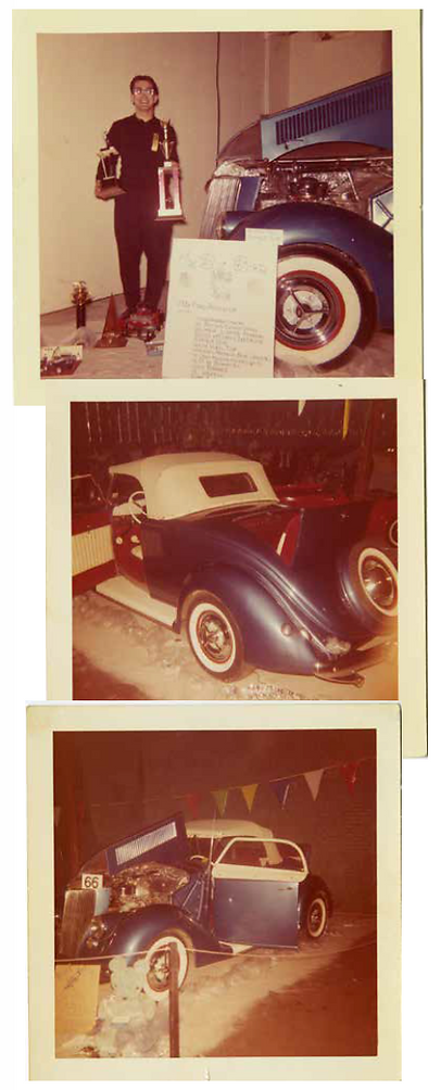 1936 Ford custom roadster historic images