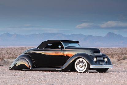 Jon Wright 1936 Ford custom roadster