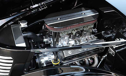 1936 Ford roadster tri-power smallblock Ford Windsor