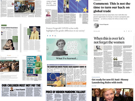 What it says in the papers with Frances Fitzgerald