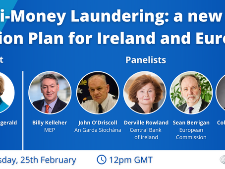 Webinar Registration: Anti-Money Laundering: a new Action Plan for Ireland and Europe