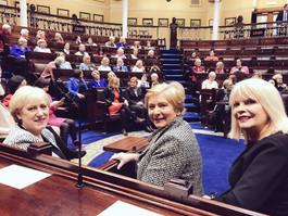 #Votáil100 Dáil Chamber Picture