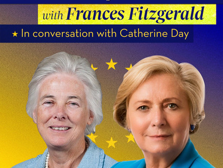 New episode of The European Lens-In Conversation with Catherine Day