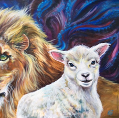 Lion and the Lamb #1