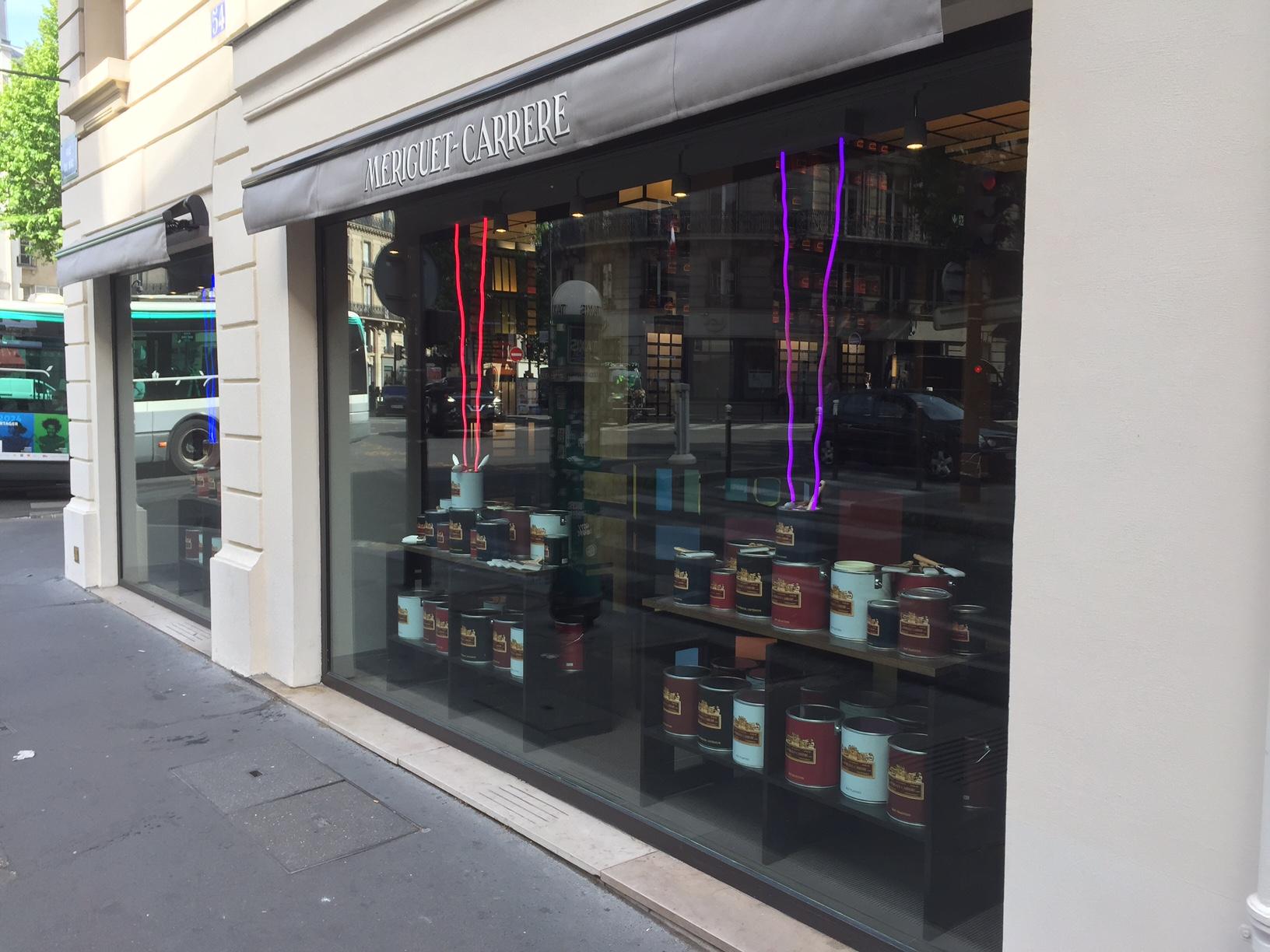 Vitrine rue du Bac