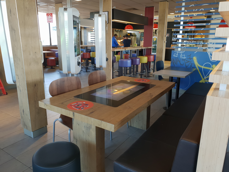Villabé - table interactive