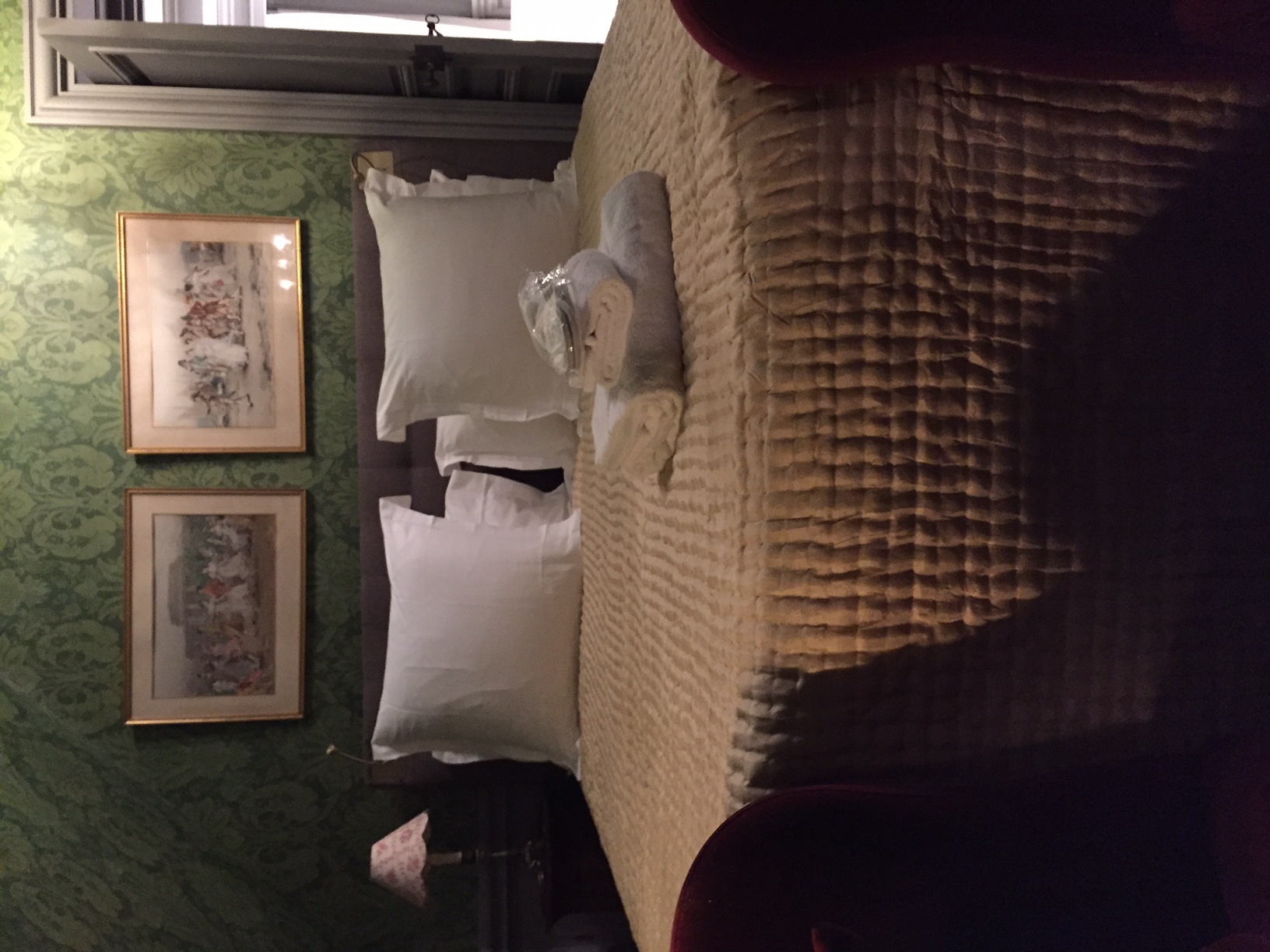 Chambre invités appartement 2