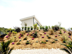 création jardin pente