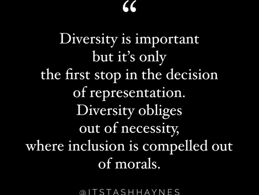 Diversity and Inclusion, What's the Difference?