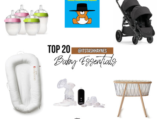 My 20 Must Have Baby Items:  A Minimalist Approach to the Newborn Stage