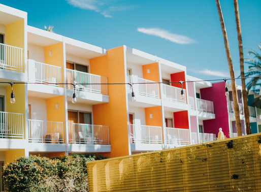 Tash's Travel Tips: Where to Stay in Palm Springs: The Saguaro Hotel