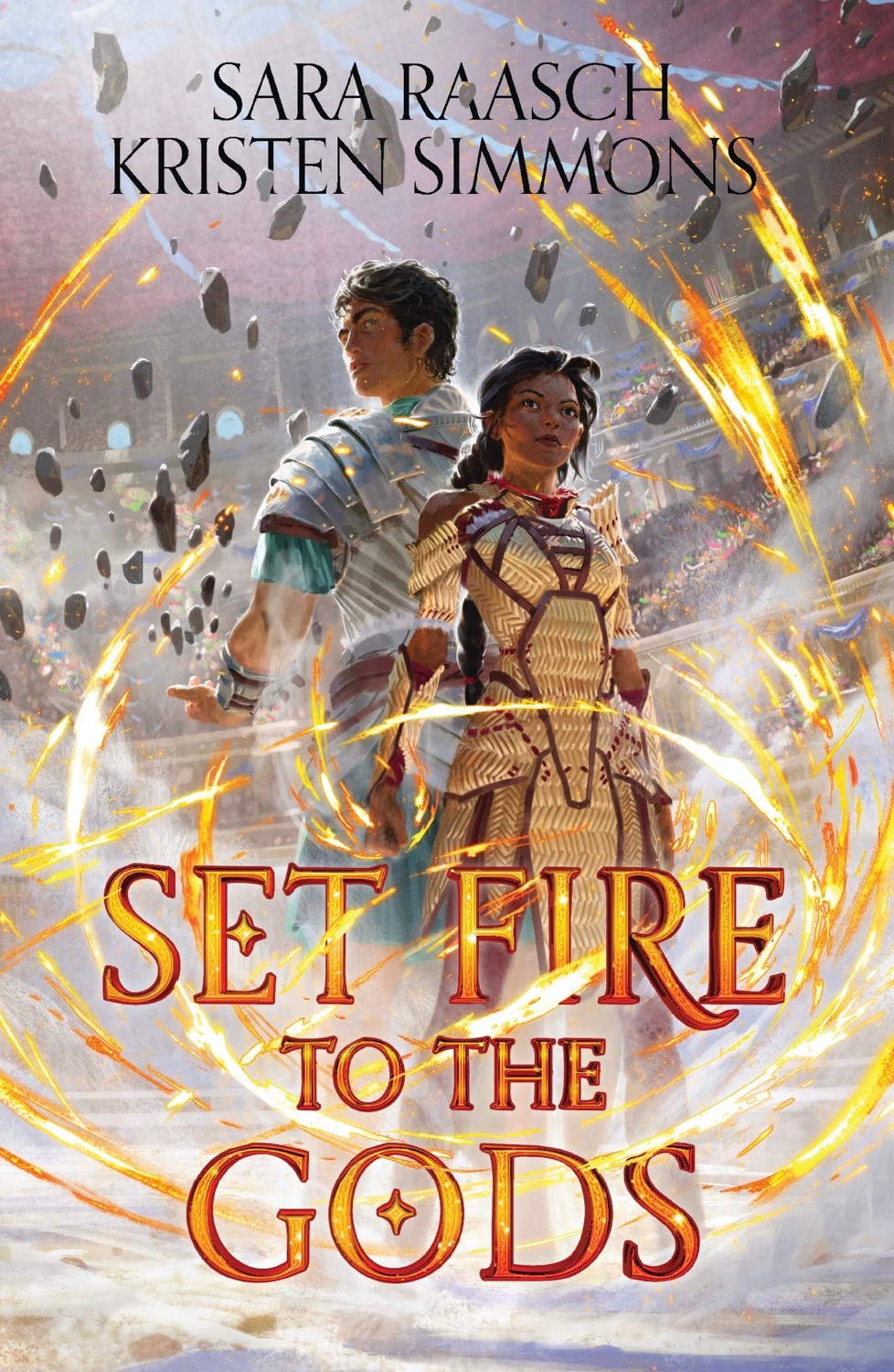 Set Fire to the Gods by Sara Raasch & Kristen Simmons - Book Cover | 13 YA Books Out In August 2020