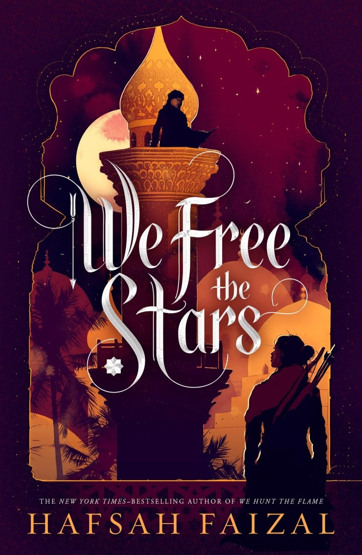 Book Cover: We Free the Stars by Hafsah Faizal