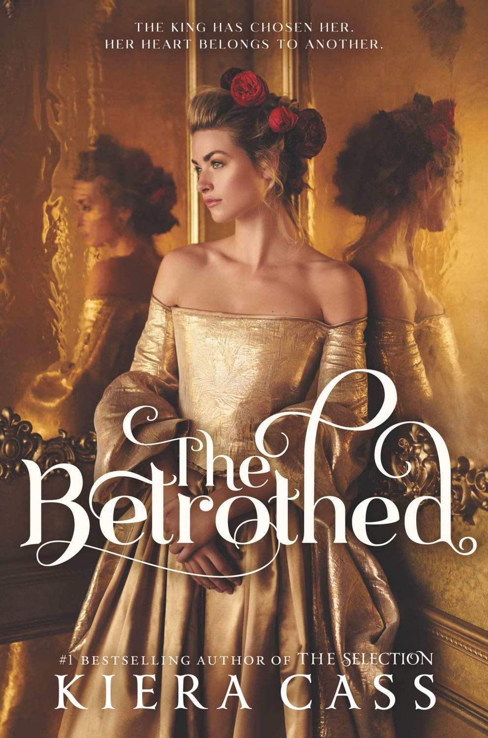 The Betrothed by Kiera Cass, book cover. May releases, 2020.