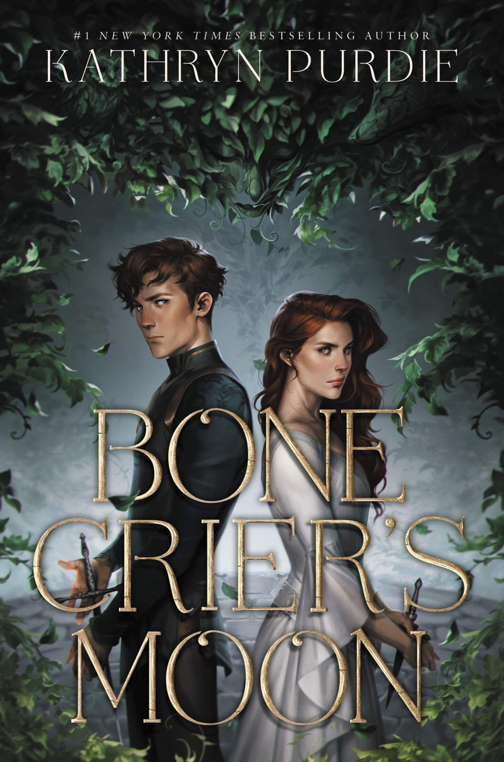 Cover of Bone Crier's Moon by Kathryn Purdie