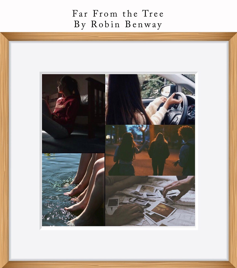 Book Aesthetic: Far From the Tree by Robin Benway - Two Arts in a World