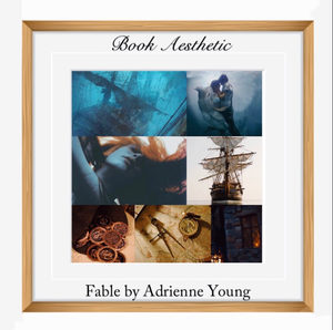 Book Aesthetic: Fable by Adrienne Young. Young Adult Books: Fantasy, Adventure.