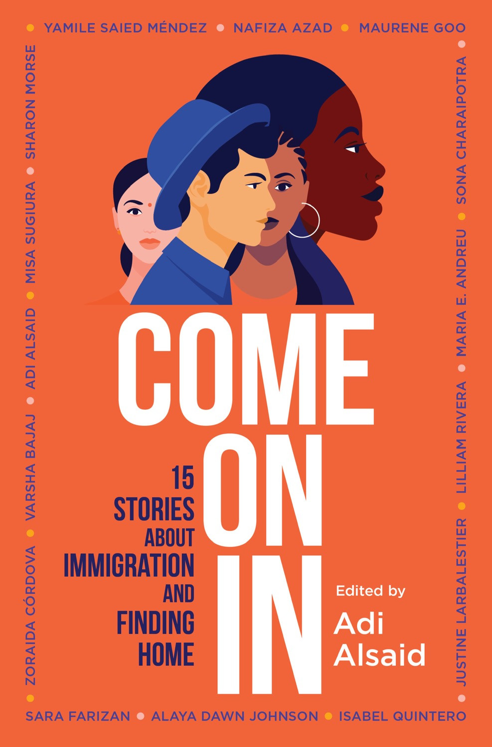Book Cover: Come On In edited by Adi Alsaid - 10 YA Books Out in October 2020 - Two Arts in a World