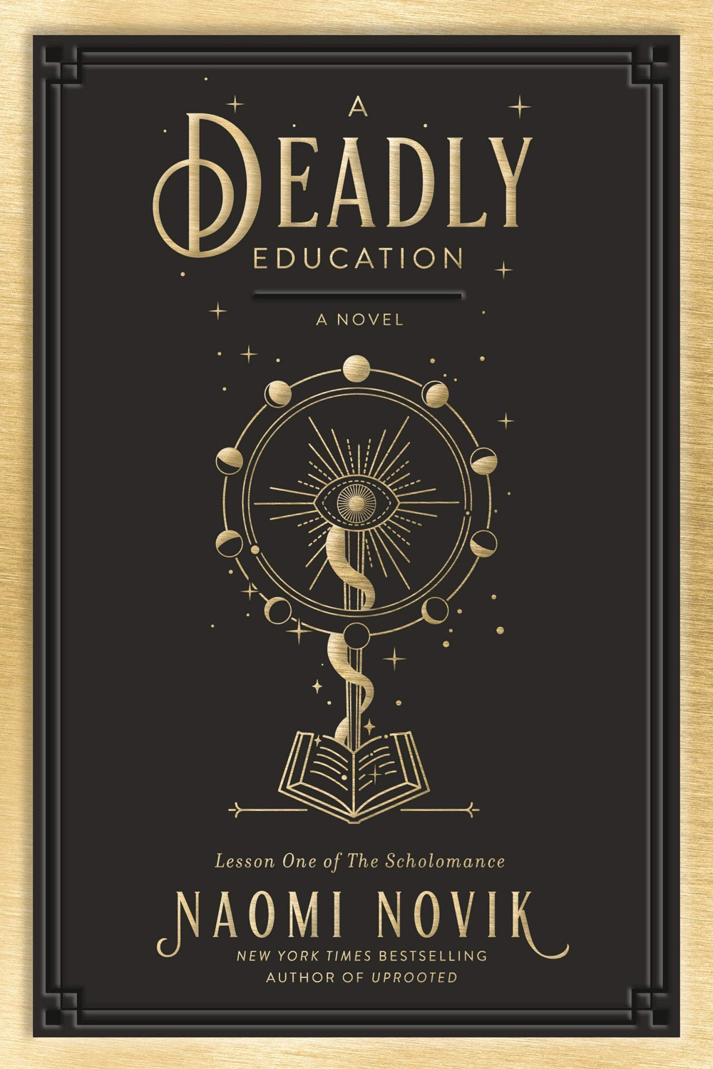 A Deadly Education by Naomi Novik - Book Cover | 15 YA Books Out In September 2020