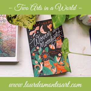 Book Review of Isabel Ibañez's Woven in Moonlight by Lourdes Montes   Two Arts in a World   March, 2020.