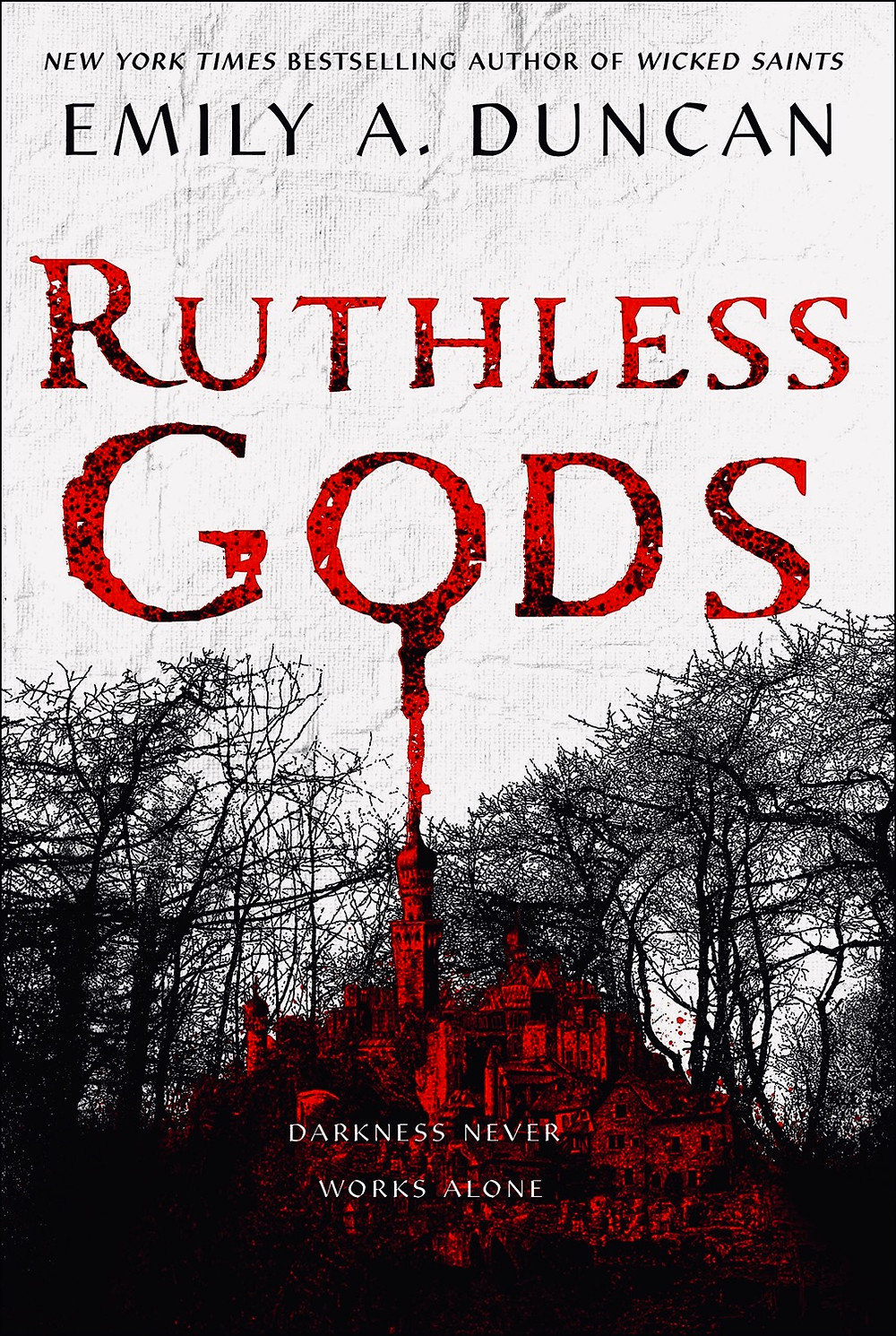 Cover of Ruthless Gods by Emily A. Ducan. Young Adult Books Coming Out April 2020, curated by Lourdes Montes