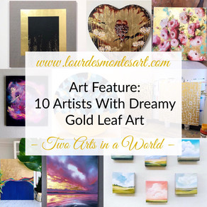 Art Feature: 10 Artists With Dreamy Gold Leaf Art