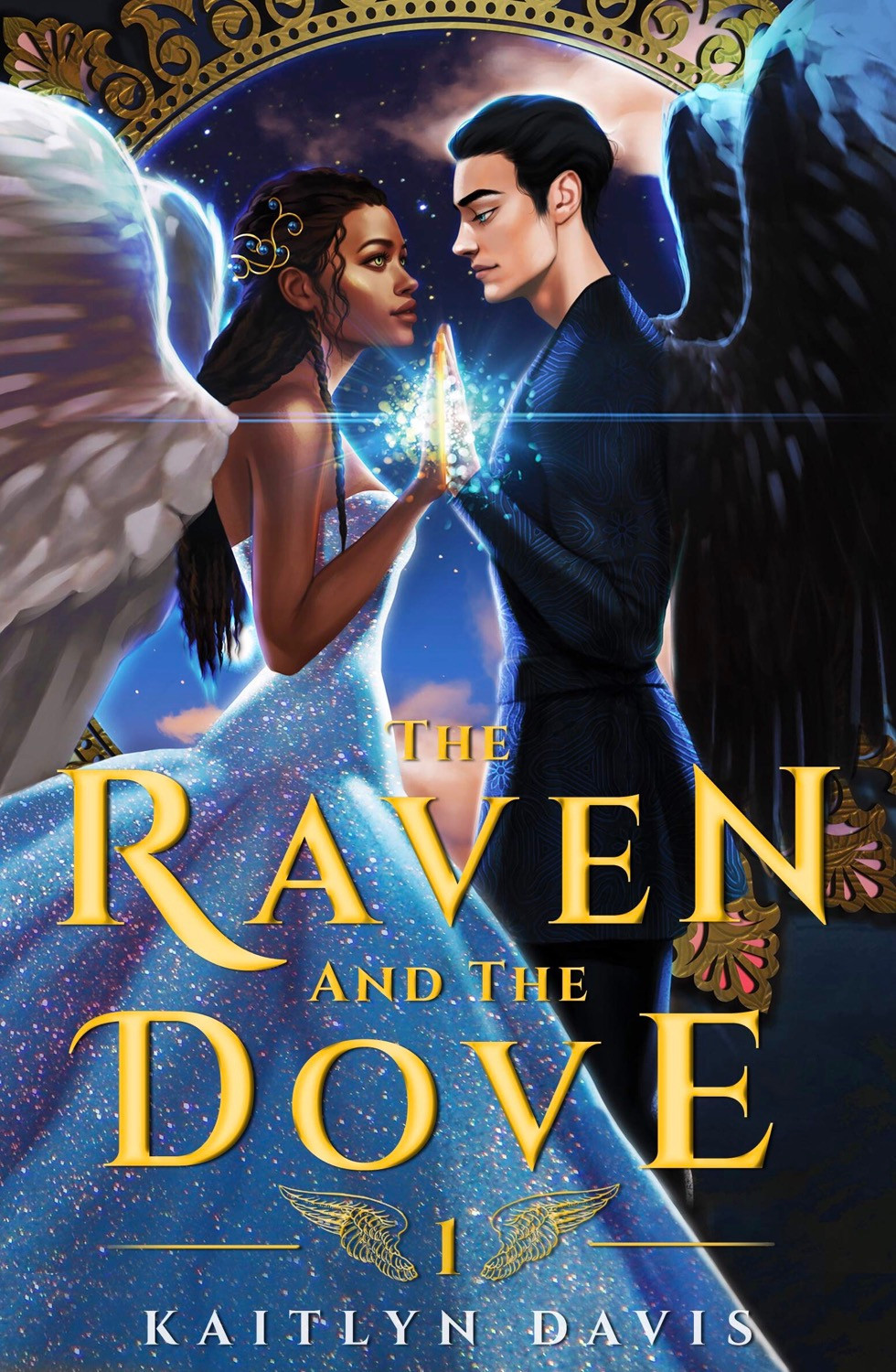 Cover of The Raven and the Dove by Kaitlyn Davis