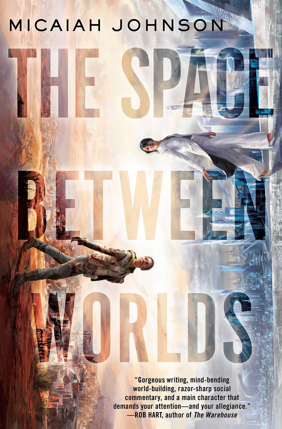 The Space Between Worlds by Micaiah Johnson - Book Cover | 13 YA Books Out In August 2020