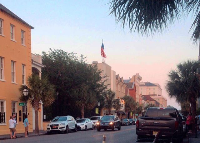 Afternoon scenes on King Street in Charleston, Sc. Picture taken by Lourdes Montes.